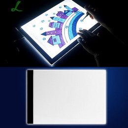 coin copies Australia - Led Copy Table Led Painting Board Led Japanese Manga A4-f Advertising Display Board Farmhouse Home Decor SH190918