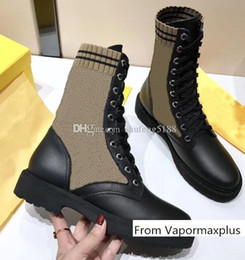 Long boot Laces online shopping - Fall Winter Oreo Mid Long Stretch Sneakers Women Outsoor Casual Brand Warm Ladies Lace Socks Shoes Boots