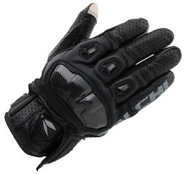 Leather Race Gloves Motorcycle NZ - Free Shipping Racing Gloves Leather Rst410 Perforated Breathable Motorcycle Bike Riding Racing Moto Gp Gloves