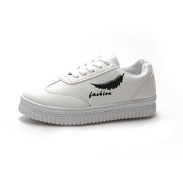 $enCountryForm.capitalKeyWord UK - Aleafalling Sneakers' Girls Women White Shoes Massage Thicken Softable Leather Women Flats Zapatos Mujer Girl's Newest Shoes