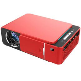 Светодиодный видеопроектор HD 720P Портативный вариант HDMI Android Wifi Beamer Поддержка 4K Full HD 1080p Домашний кинотеатр Кинотеатр на Распродаже