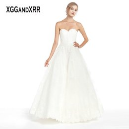 $enCountryForm.capitalKeyWord NZ - In Fashion Lace Ball Gown Wedding Dress 2019 Sweetheart Off Shoulder Sexy Backless White Bridal Gown Lace Up Back Design