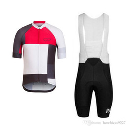 spain clothing UK - Rapha cycling jersey set spain MTB Pro team summer short sleeve Racing Bike Clothing Maillot Ropa Ciclismo Hombre Bicicleta