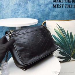 $enCountryForm.capitalKeyWord Australia - wholesale handbag lovely chain bags elegant woman leather shoulder bag women bag genuine leather bag purses y design drop shipping