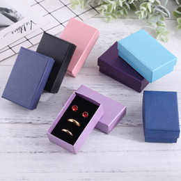 $enCountryForm.capitalKeyWord Australia - 5*8*3cm Paper Ring Pendant Gift Jewelry Box Gift Box Earring Pendant Ring Packaging Paper Case Storage Container