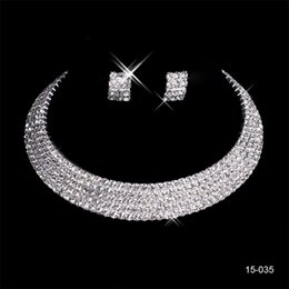 Trendy charms online shopping - 15035 Charming Wedding Bridal Sets Accessories Jewelry Necklace Earring Set Party Jewelry for Wedding Party Bride