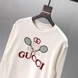 $enCountryForm.capitalKeyWord UK - 19FW Italy early autumn brand tennis racket print pattern sweater men's designer high quality men's women's clothing luxury sweater tag top