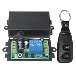 $enCountryForm.capitalKeyWord Australia - Dc 12V 10A 1Ch Wireless Remote Control Switch System Receiver Transmitter 2 Buttons Waterproof Remote 433Mhz