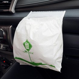 packing containers 2019 - 15pcs pack Self-adhesive Car Trash Storage Waterproof Garbage Bag Leak Proof Auto Trash Bag Container for Automobile che