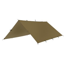 Wholesale FLAME S CREED Outdoor sports awning tarp for camping portable shelter sunshade tent waterproof folding PU waterproof with stake