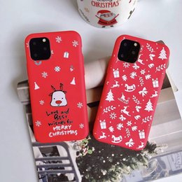 iphone santa 2019 - Santa Claus Soft TPU Case For iphone 11 Pro XS MAX XR X 8 7 6 Merry Christmas Gift Hat Tree Elk Snow Snowman Phone New R