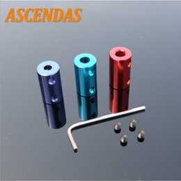 Blue printers online shopping - ASCENDAS Aluminum Alloy Coupling Bore Blue And Red D Printer Part Flexible Shaft Coupler Screw Part for Stepper Motor CS