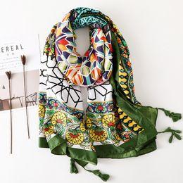 $enCountryForm.capitalKeyWord Australia - Winter Warm Print Scarf for Women Ethnic Stylish Cotton Scarf New Design Large BOHO Shawl Wraps Recommend [3540]