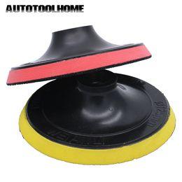$enCountryForm.capitalKeyWord Australia - buffer wheel Polish Pad Bonnet Polisher Buffer Wheel Disc fit Angle Grinder Sander Sticky Adhesive Disk Sander Sanding Abrasive Tools 5 INCH