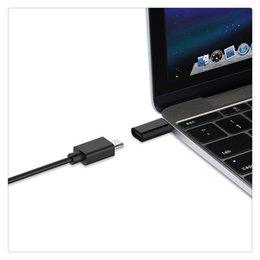 Venta al por mayor de 2 x Micro USB 3.0 al adaptador de tipo C Divisor de carga rápida para transferencia de datos H