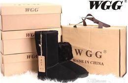$enCountryForm.capitalKeyWord NZ - Free shipping High Quality Classic Brand Women popular tall Australia Genuine Leather Boots Fashion Women's Snow Boots Low price