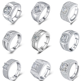 $enCountryForm.capitalKeyWord NZ - Fashions Cubic Zirconia Rings Crystal CZ Diamond Rings Couples Engagement Ring Women Bridal Wedding Rings Good Quality Jewelry Lover Gifts