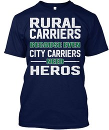 City Tees NZ - mens designer t shirts shirt Rural Carrier T S | Usps - Carriers Because Even City Popular Tagless Tee T-Shirt