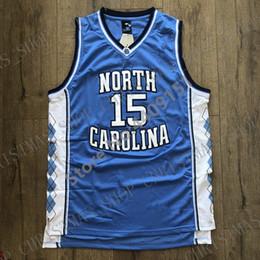2019 New Mens Vince Carter 15 North Carolina UNC Tar Heels College Basket Jersey Personalizzata personalizzata qualsiasi numero nome XS-5XL in Offerta
