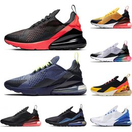 plastic cactus Canada - 270 Designer New running shoes for mens women usa rainbow Black Cactus University Red Photo Blue breathable trainers outdoor sports sneakers
