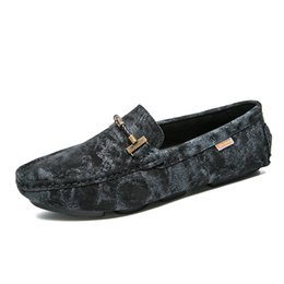 $enCountryForm.capitalKeyWord Australia - 2019 Genuine Leather Men Shoes Luxury Loafers Italian Camouflage Mens Shoes Casual Black Slip on Moccasins Flats Driving