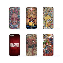 avengers iphone 5s case NZ - Marvel Comics Avengers Superhero Collages Hard Phone Case Cover For Apple iPhone X XR XS MAX 4 4S 5 5S 5C SE 6 6S 7 8 Plus ipod touch 4 5 6