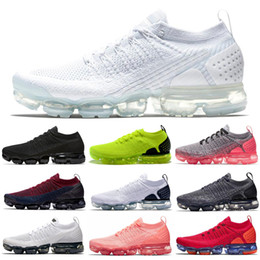 black men running shoes discounted NZ - Discount Women Men Running Shoes Triple White Black Crimson Pulse Volt Hydrogen Blue Fashion Mens Trainers Walking Joggin Sports Sneakers