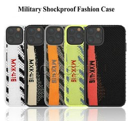 Apple red shoes online shopping - Fashionable Hybrid Shockproof Textile Fabric TPU Phone Case Cover For iPhone Pro Max XR XS Max G Plus Shoes Case