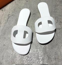 $enCountryForm.capitalKeyWord Australia - 2019 Womans Slipper H Flats Leather H Sandals Mule AUTHENTIC Flip Flop Shoes luxury Paris Oran Slide Sandal Brown white ladies GIRLS slipper