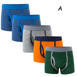 hot boys boxers 2019 - Hot selling baby underwear cartoon children boxers panties 5pcs set good selling supply cheap hot boys boxers