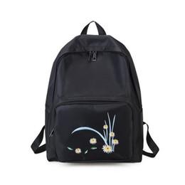 323abc7073 Women Floral Waterproof Nylon Backpacks Female Rucksack School Backpack  Girls Fashion Travel Schoolbag Bolsas Mochilas Sac A Dos