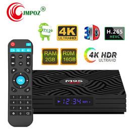 $enCountryForm.capitalKeyWord Australia - 1 PCS [Genuine] M9S W6 Android 7.1 TV BOX 2GB 16GB Amlogic S905W Quad Core Suppot H.265 3D 4K 30tps 2.4GHz WiFi Media Player Better TX3 X96