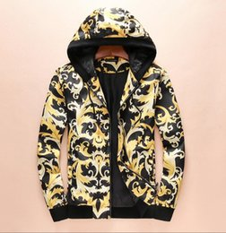 D branD jacket online shopping - Hot spring and autumn hop hip Snake print high street Europe Paris Best Sellers mens and womens Brand VE SA E Men s Jackets