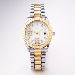 Glasses Brand Names Australia - AAA high quality luxury brand men's ladies watch with full diamond fashion ladies wedding watch ladies watch brand name with gift box..
