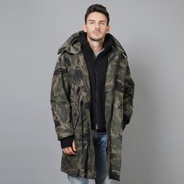$enCountryForm.capitalKeyWord NZ - 2018 Men Winter Stand Collar Hooded Down Jacket Men Long Thick Down Coat Parkas Casual Outerwear