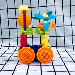 $enCountryForm.capitalKeyWord Australia - New Zealand Bristle Bristle Building Block Hedgehog Variable Intelligence Environmental Protection Plastic Granular Comb Inserting Toys for