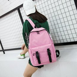 $enCountryForm.capitalKeyWord NZ - Women Canvas Backpacks Girl School Shoulder Bag Rucksack Satchel Bookbag Casual College Laptop Schoolbag Travel Bags