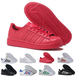 $enCountryForm.capitalKeyWord UK - With Box 2019 Best Fashion Mens Womens Striped Red White Black Flat Bottoms Casual Shoes Luxury Designer Sneakers Party Wedding Shoes