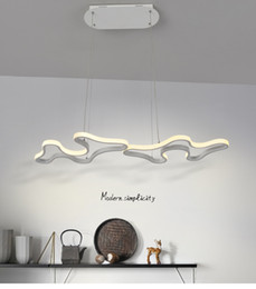 Kitchen Acrylics Australia - Creative Modern Led Hanging Pendant Lights For Shop Bar Dining Kitchen Room AC85-265V Acrylic Led Pendant Lamp Free Shipping