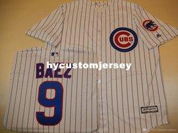 $enCountryForm.capitalKeyWord Australia - Cheap custom Chicago #9 JAVIER BAEZ Cool Base Sewn Baseball Jersey W Patch NEW Mens stitched jerseys Big And Tall SIZE XS-6XL For sale