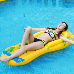 bedding padding Australia - Water Inflatable Floating Row Personality Flip-flops Floating Pad Adult Swimming Pool Toys Floating Bed
