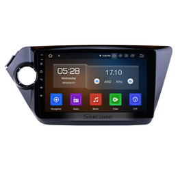 Gps Kia Rio NZ - 9 Inch Android 9.0 Car Stereo GPS Navigation for 2012-2015 KIA K2 RIO with USB Bluetooth WiFi AUX support car dvd Steering Wheel Control DVR