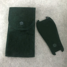 venda por atacado Verde Protective Watch bolso Liso flanela mens Bolsa das mulheres da caixa protetora para Relógios Rolex Pockets presente verde saco de armazenamento