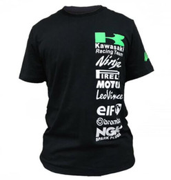 Woman Fans Australia - Free shipping For KAWASAKI RACING TEAM fans T-shirts MotoGP t shirt men tee Motorcycle