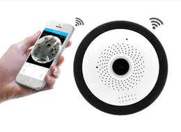 3d mini camera online shopping - WIFI IP Camera Fisheye P Panoramic Baby Monitor Wireless Mini Degree CCTV Camera D VR Video Cam Surveillance