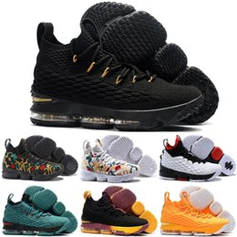 a1c7cacdf409 2019 Newest lebron 15 Ashes Ghost High Quality Kids Basketball Shoes  Sneakers 15s Mens Casual Shoes