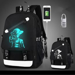 $enCountryForm.capitalKeyWord Australia - Fashion USB Charge Luminous Designer Backpack Men Students Bags Travel Computer Backpack Large capacity Shoulder Bag with Anti-theft Lock