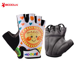 $enCountryForm.capitalKeyWord Australia - Boodun Children Bicycle Gloves Summer Quick Dry Anti Slip Glove for Boys Kids Road Bike Cycling Racing Safety Sports Wear Gloves