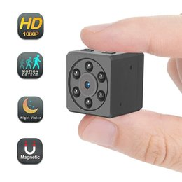 Portable Car Video Recorder NZ - 32G Mini Camera 1080P Tiny HD Nanny Cam Portable Video Recorder with Night Vision Motion Detection Security Surveillance for Home Car Office