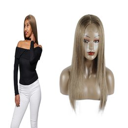 32 Hair NZ - Straight Lace Wigs 180 Density Lace Front Human Hair Wigs Ombre 126 Brazilian Remy Hair Wig For Women